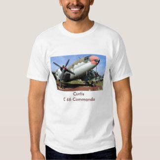 Commando de Curtiss C-46, commando de CurtisC 46 T-shirt