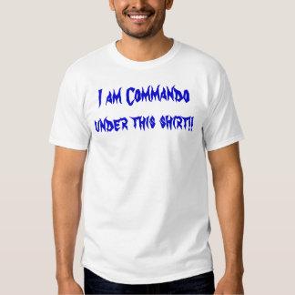 Commando de Q T-shirt
