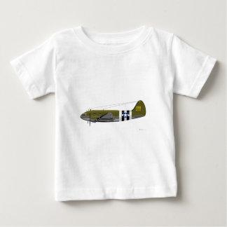 Commando w/Inv de Curtiss C-46. Rayures T-shirts