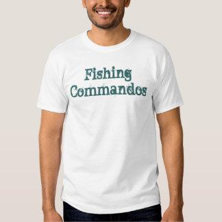 Commandos de pêche t-shirts