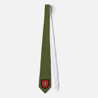 Commandos portugais d'armée cravate avec motifs