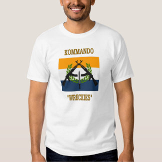 COMMANDOS SUD-AFRICAINS T-SHIRTS