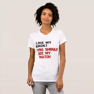 comme mon support vous devriez voir ma bribe t-shirt