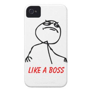 Comme un patron coque iPhone 4 Case-Mate