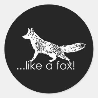 … comme un renard Autocollants