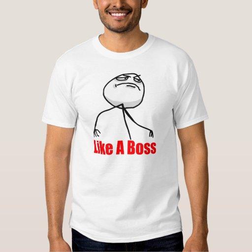 Comme une chemise de Meme de patron T-shirt