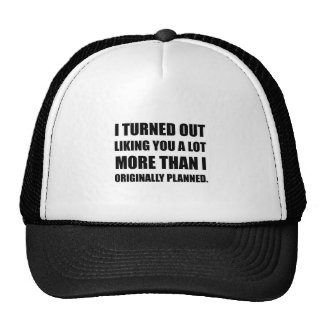 Comme vous plus que prévu casquette trucker