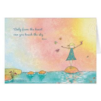 """Commencez dans """"de la carte de voeux de Rumi de"""