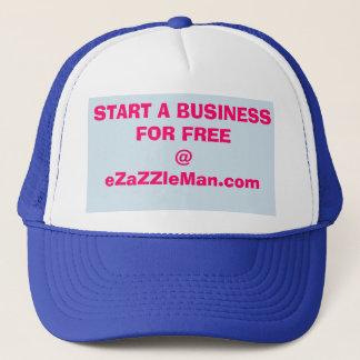 Commencez des affaires de faire les casquettes