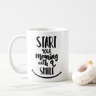 Commencez votre matin avec un sourire mug