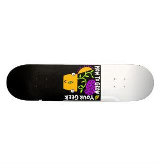 Comment élever votre planche à roulettes de geek skateboard customisable