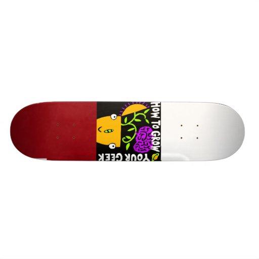 Comment élever votre planche à roulettes de geek,  skateboards personnalisés