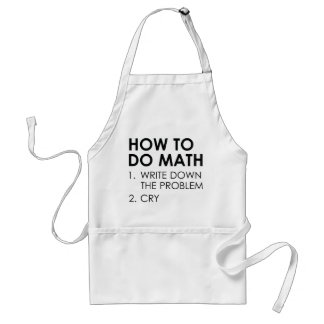 Comment faire des maths tablier