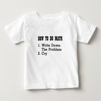 Comment faire les T-shirts drôles de maths