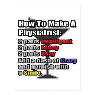 Comment faire un kinésithérapeute. Drôle Cartes Postales