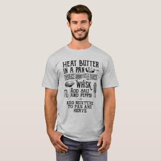 Comment faire un T-shirt d'omelette