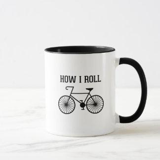 Comment je roule la tasse de bicyclette