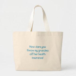 Comment le défi vous jettent ma grand-maman outre grand sac