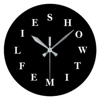 Comment le temps pilote la grande horloge murale