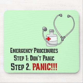 Comment médecins Respond à votre urgence Tapis De Souris
