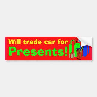 Commercera l'adhésif pour pare-chocs rouge, person autocollant de voiture