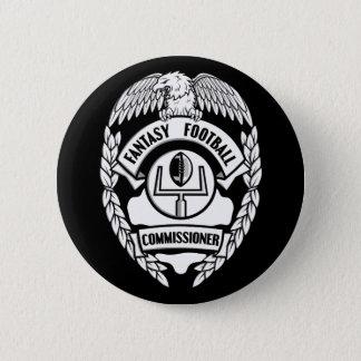 Commissaire du football d'imaginaire badges