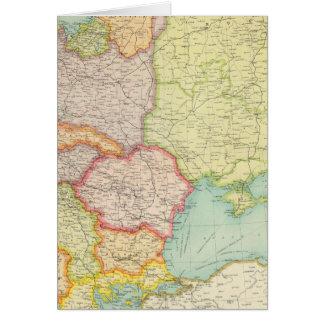 Communications de l'Europe de l'Est Carte De Vœux