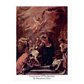 Communion des apôtres par Sebastiano Ricci Cartes Postales