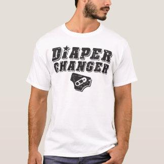 Commutateur de couche-culotte t-shirt