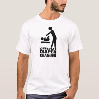 Commutateur officiel de couche-culotte t-shirt