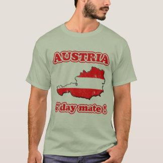 Compagnon de l'Autriche - du G'day ! T-shirt