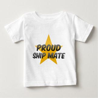 Compagnon fier de bateau t-shirt pour bébé