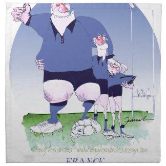 compagnons français de rugby, fernandes élégants serviette