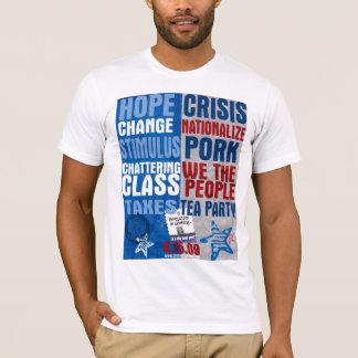 Comparez et contrastez le T-shirt