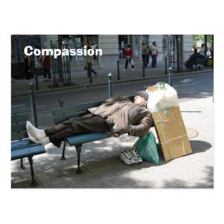 Compassion Carte Postale