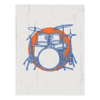 Compensation de kit de tambour carte postale