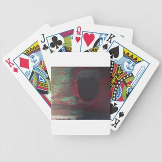 Complètement de couleur dans un monde lumineux jeu de poker