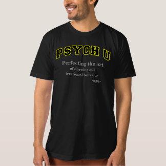 Comportement irrationnel jaune de la découpe PSYCH T-shirt