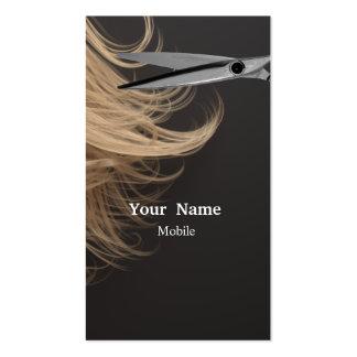 Composez l'artiste - coiffeur carte de visite standard
