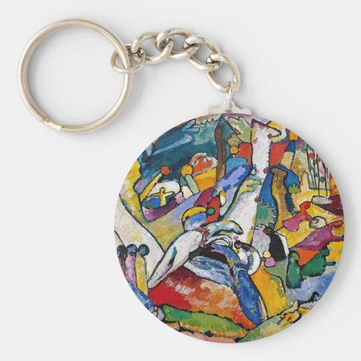 Composition 2 en Kandinsky Porte-clé