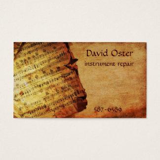 Composition antique cartes de visite