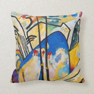 Composition quatre en Wassily Kandinsky - art Coussin Décoratif
