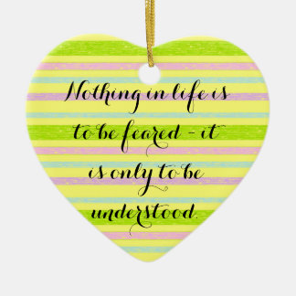 Comprenez plus d'ornement de citation de curie ornement cœur en céramique
