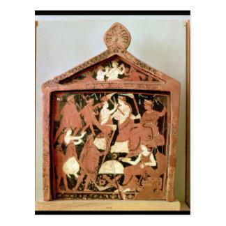 Comprimé votif de grenier carte postale