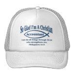 Comptable chrétien casquettes de camionneur