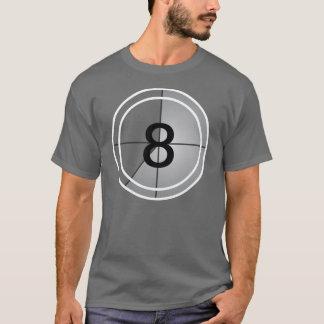 Compte à rebours de film t-shirt