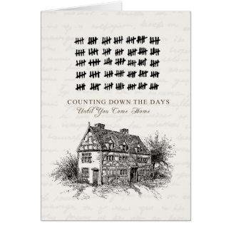 Compte des jours carte de vœux