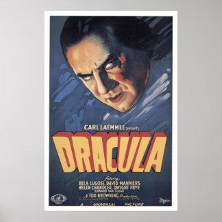 Compte Dracula Bela Lugosi 1931 Posters