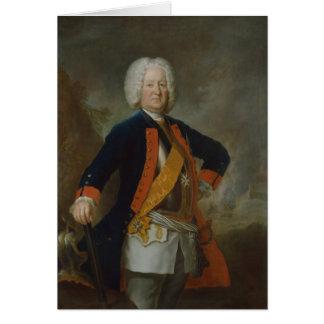 Compte Finck von Finckenstein de maréchal de champ Carte De Vœux