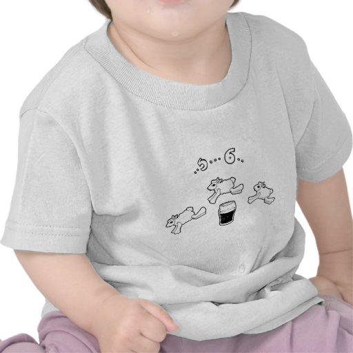 Compte irlandais de moutons t-shirt